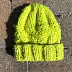 100% Wool Chunky Knit Beanie by Eugenia Kim